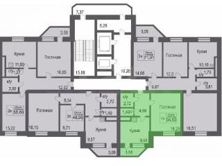 Продажа квартир: 1-комнатная квартира, Тюмень, Холодильная ул., 21, фото 1