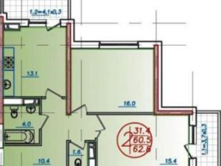 Продажа квартир: 2-комнатная квартира, Краснодар, ул. им Воровского, ., фото 1