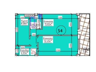 Продажа квартир: 2-комнатная квартира, Севастополь, ул. Аргонавтов, фото 1