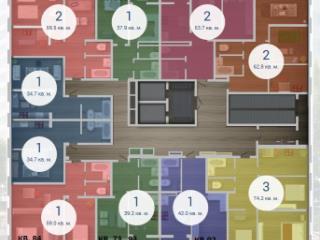 Продажа квартир: 1-комнатная квартира, Краснодар, ул. им 40-летия Победы, 131, фото 1