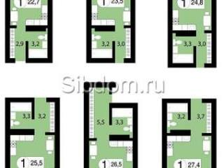 Продажа квартир: 1-комнатная квартира в новостройке, Красноярск, ул. Вильского, 1, фото 1