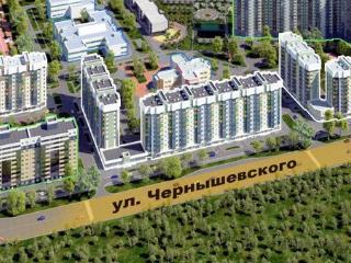 Продажа квартир: 1-комнатная квартира в новостройке, Красноярск, ул. Чернышевского, 75, фото 1