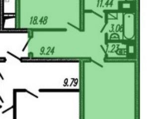 Продажа квартир: 2-комнатная квартира в новостройке, Санкт-Петербург, пр-кт Героев, 27к1, фото 1