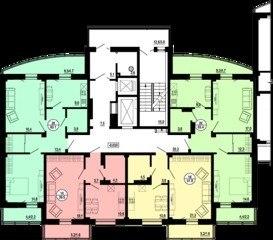 Продажа квартир: 2-комнатная квартира, Красноярск, Норильская ул., 4стр2, фото 1