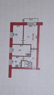 Продается трехкомнатная квартира за 2 090 000 рублей. обл Ивановская, г Иваново, ул Маяковского, дом 21А.